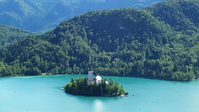 Kisah Cinta dari Danau Bled di Slovenia (151692)