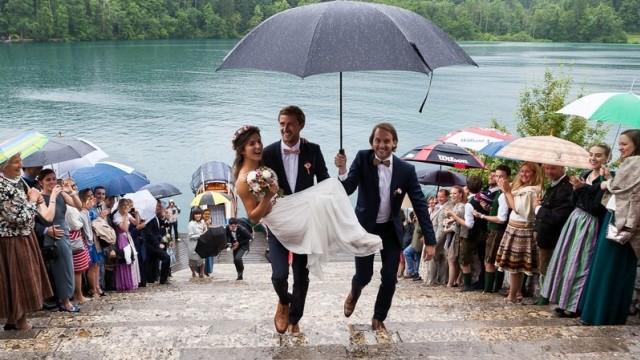 Kisah Cinta dari Danau Bled di Slovenia (151695)