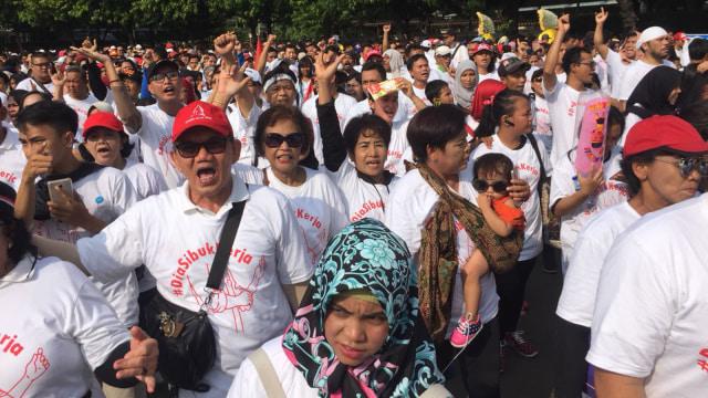 Relawan Jokowi di CFD