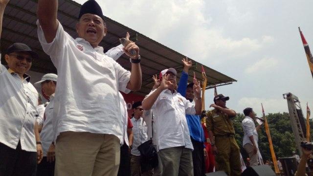 Sohibul Iman di Kampanye Sudrajat-Syaikhu