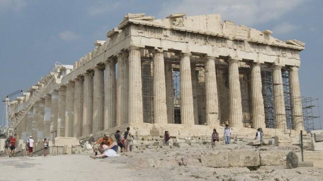 Parthenon di Athena, Yunani