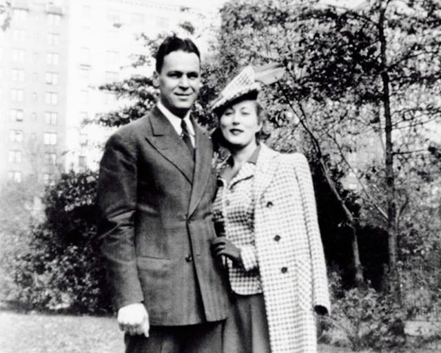 Estée Lauder dan suami