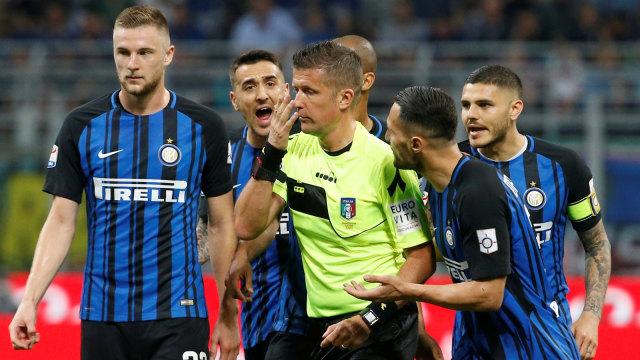 Perbincangan VAR Inter Vs Juventus Memang Tak Ada, Bukan Hilang