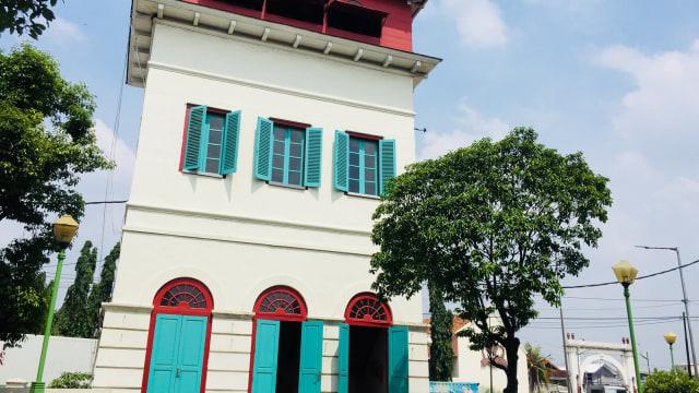 Menara Syahbandar di Museum Bahari