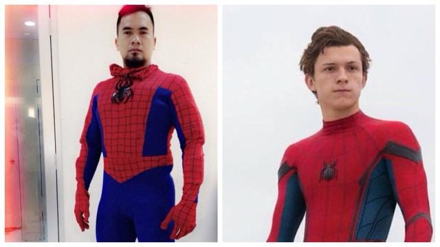 5 Penampilan Nyentrik Nassar yang Mirip Kostum Avengers: Infinity War (1454)