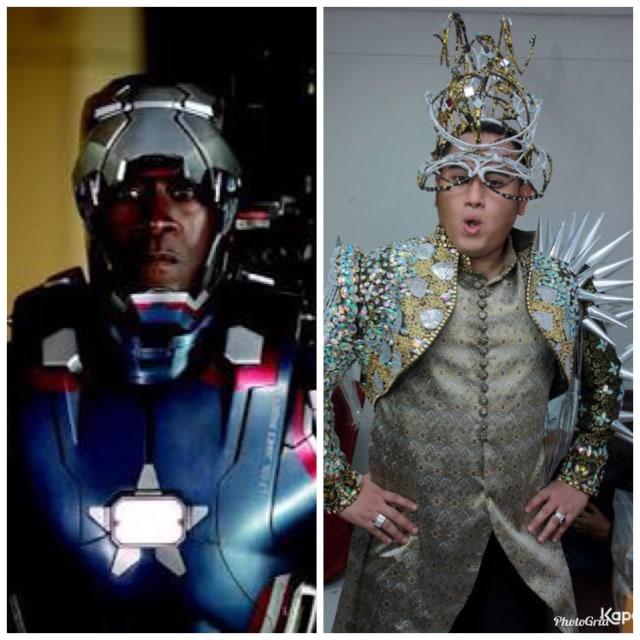 5 Penampilan Nyentrik Nassar yang Mirip Kostum Avengers: Infinity War (1453)