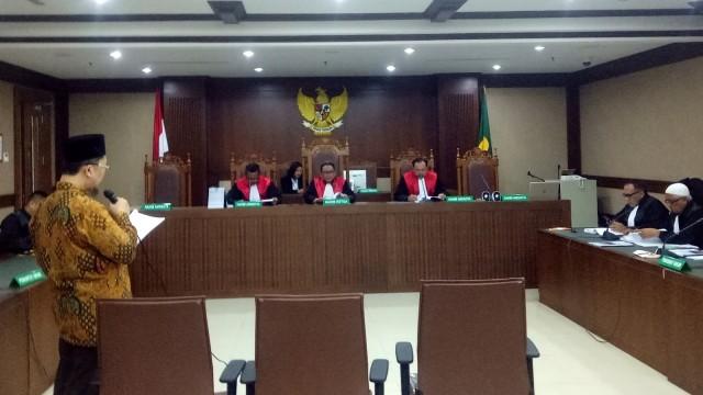 Sidang Alfian Tanjung.