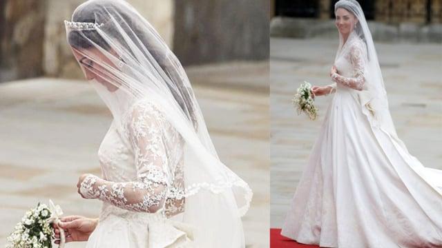 Pilih Mana: Gaun Pengantin Kate, Meghan, atau Putri Eugenie? (78837)