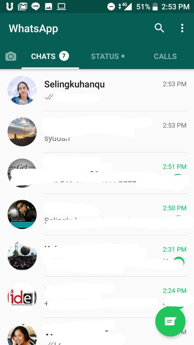 Cara Sembunyikan Pesan Whatsapp Selingkuhan di Whatsapp Tanpa Takut Terhapus (1)