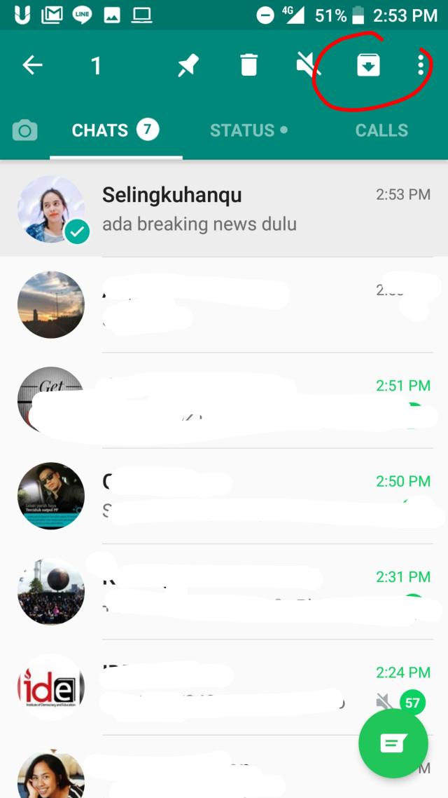Cara Sembunyikan Pesan Whatsapp Selingkuhan di Whatsapp Tanpa Takut Terhapus (2)