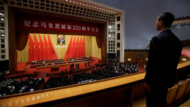 Pemerintah China rayakan ulang tahun Karl Marx