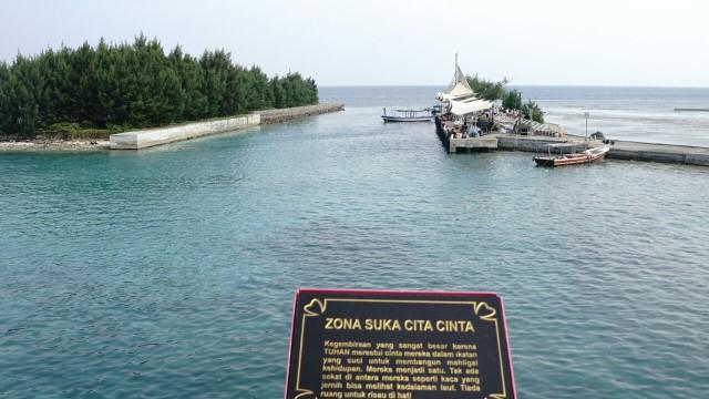 Jembatan Cinta Pulau Tidung, Kepulauan Seribu
