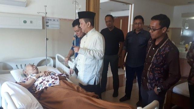 Gus Solah dirawat di RS Dr Sutomo, Surabaya.