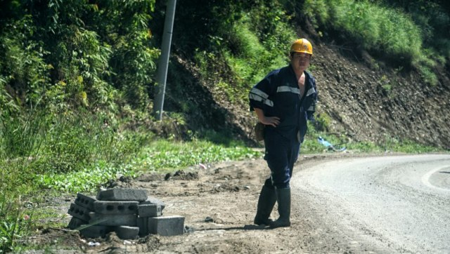 Tenaga Kerja Asing di Desa Fatufia, Morowali.