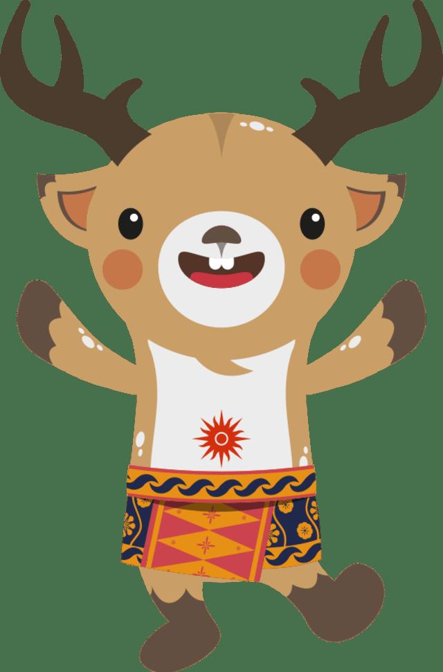580 Gambar Kartun Binatang Rusa HD Terbaik