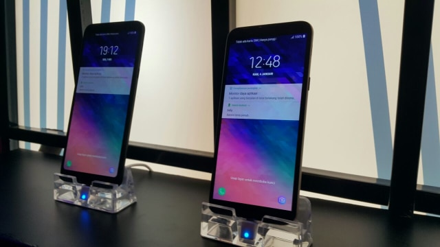 Samsung Galaxy A6 Plus dan A6