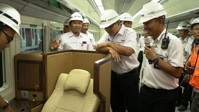 Sleeper Car produksi PT INKA
