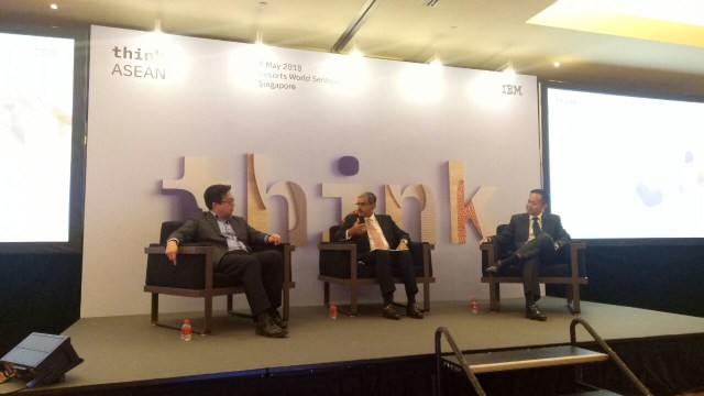 Pertemuan AI Singapore, IBM, & Temasek Polytechnic