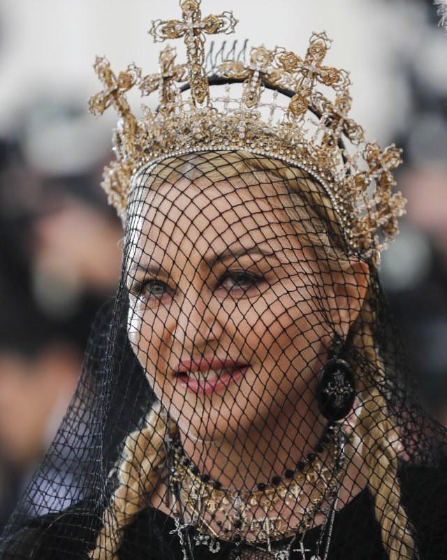 Madonna di Met Gala 2018
