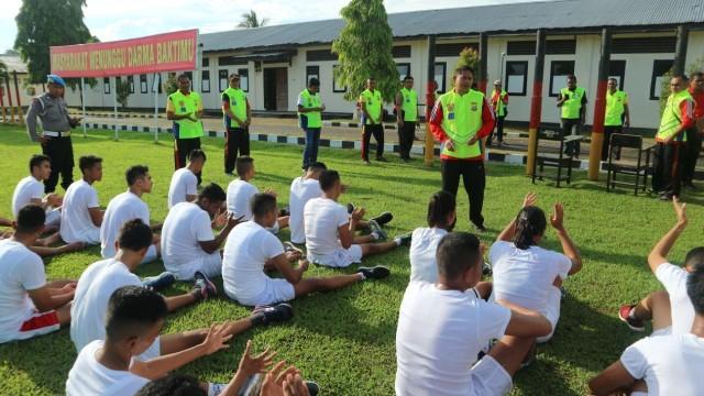 Tes seleksi rekrutmen Polri di Maluku