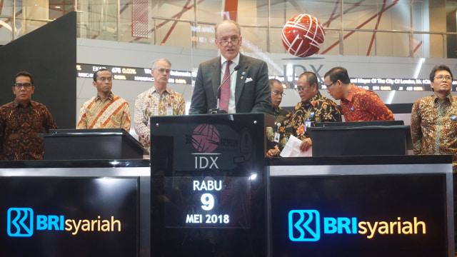 Pencatatan perdana saham PT Bank BRI Syariah Tbk
