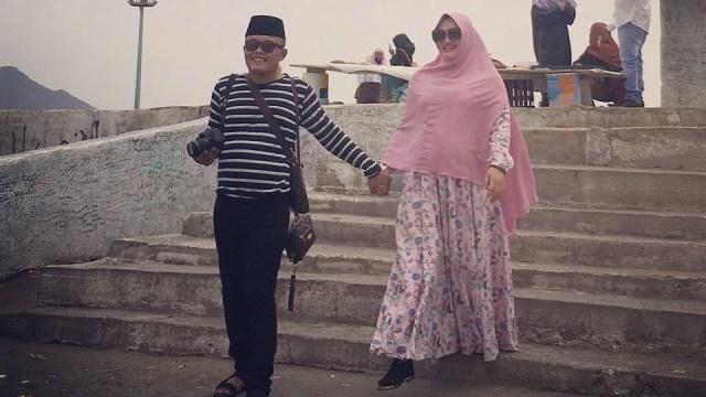 Sule dan istri.