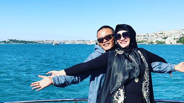 Sule dan Lina saat di Turki