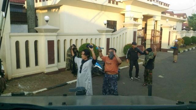 Penggeledahan napi teroris di Mako Brimob