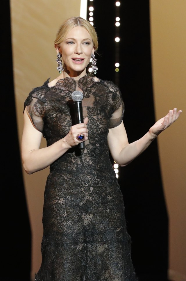 Cate Blanchett di Cannes Film Festival 2018