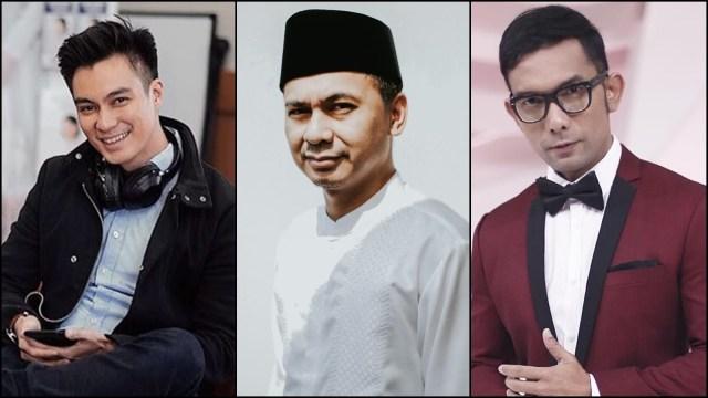 Baim Wong, Raditya Dika, Indra Herlambang