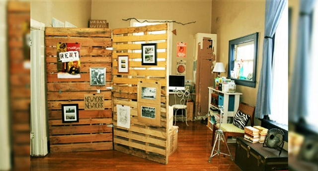 7 Sekat Ruangan Kreatif Yang Nggak Ribet Dan Irit