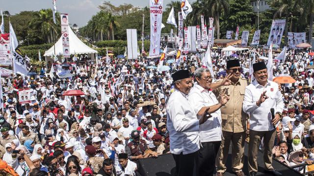 Kampanye akbar Sudrajat - Ahmad Syaikhu