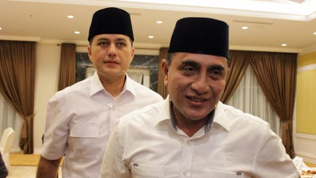 Edy Rahmayadi dan Musa Rajekshah.