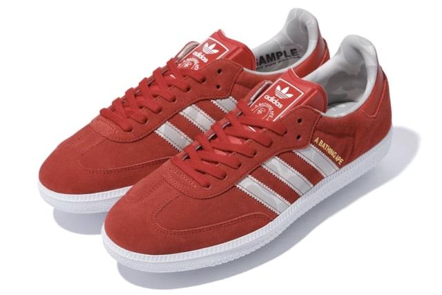 Sneaker BAPE x adidas