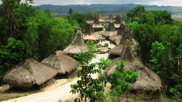 Desa Adat Praijing, Sumba