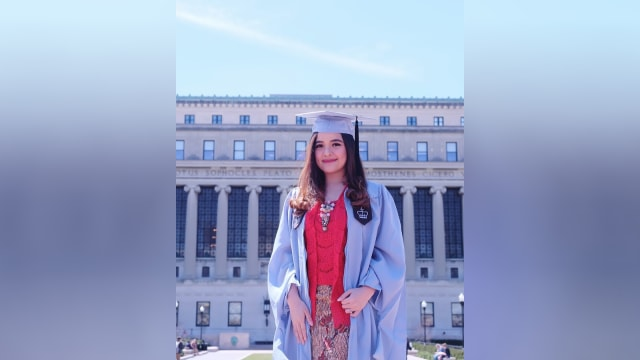 Tasya Kamila lulus kuliah S2.
