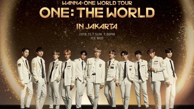 Konser Wanna One di Jakarta