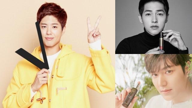Selebriti pria Korea yang jadi duta kecantikan