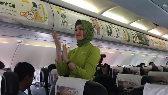 Seragam Pramugari Hijab Citilink
