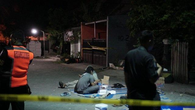 Lokasi Terduga Pelaku Bom Polrestabes