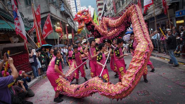 Festival Tam Kung di Hong Kong