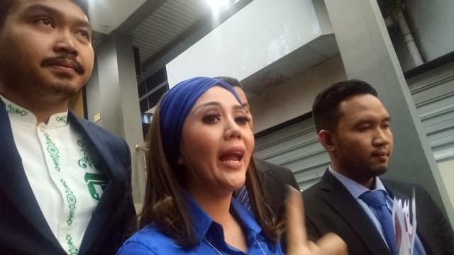 Aida Zaskia di Polda Metro Jaya