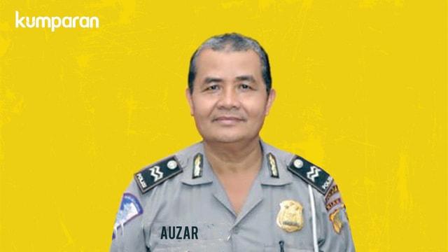 Ipda Auzar, Polisi Religius yang Gugur Ditabrak Teroris di Polda Riau (71046)