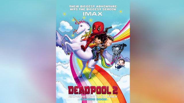 Poster Film Deadpool 2 yang Menarik Anak