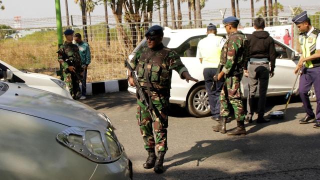 TNI Bantu Pencegahan aksi teror
