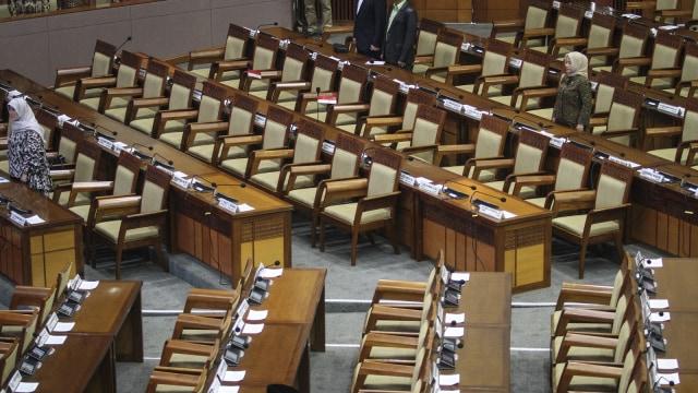 Paripurna pembuka masa persidangan DPR-RI