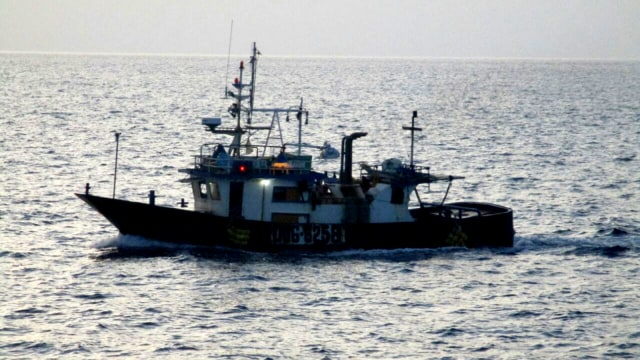 Kapal Illegal Fishing Filipina Ditangkap KKP