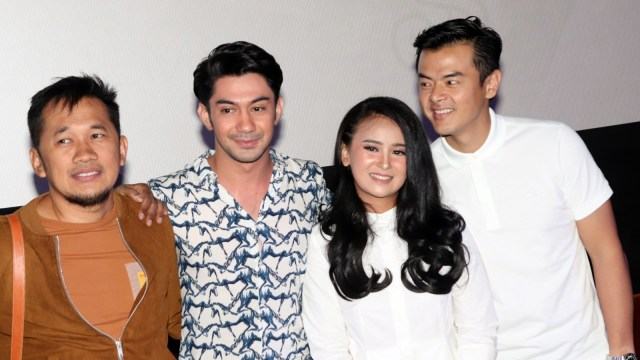 Jumpa pers film The Gift.