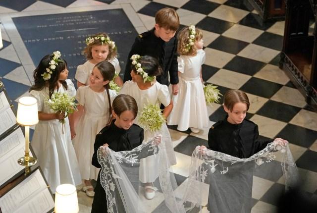 Kisah Lucu di Balik Foto Pernikahan Harry & Meghan bersama Anak-anak (168929)