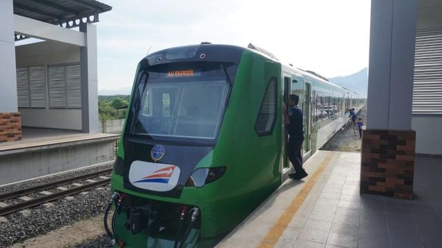 Kereta Stasiun Bandara Internasional Minangkabau